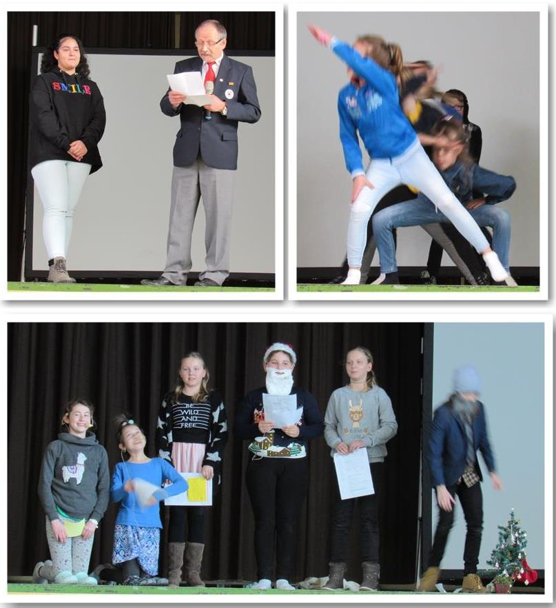 2018 12 18 Weihnachts Assembly Collage 2